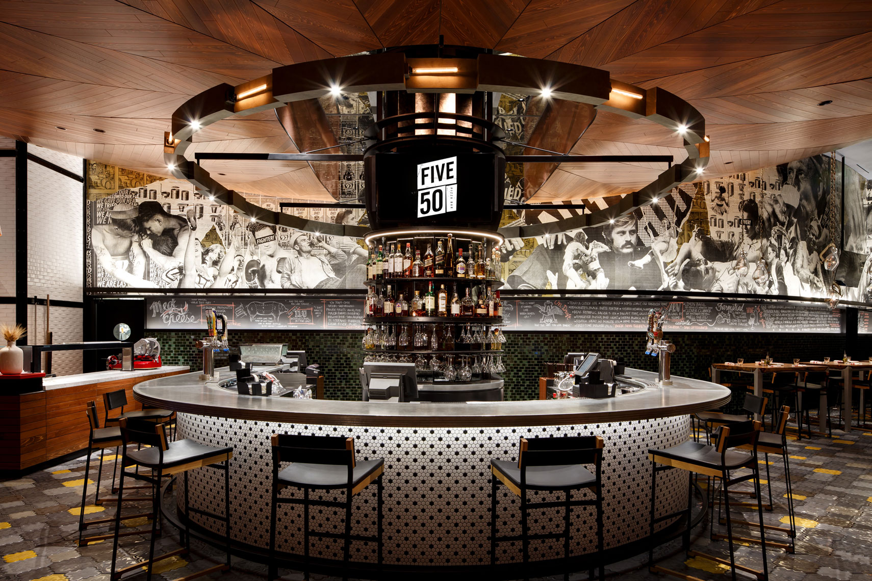 jeff-green-resort-restaurant-interiors-five-50-pizza-w-hotel-lobby-las-vegas